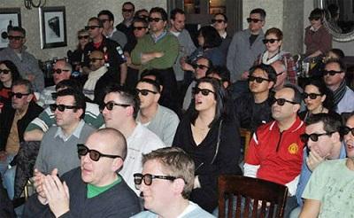 В 3д-кинотеатрах используют пассивные очки