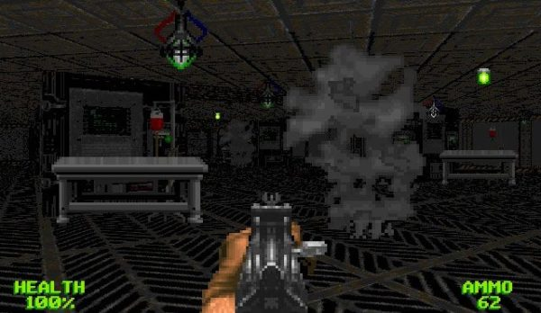 3D-модель Wolfenstein 3D Krucible