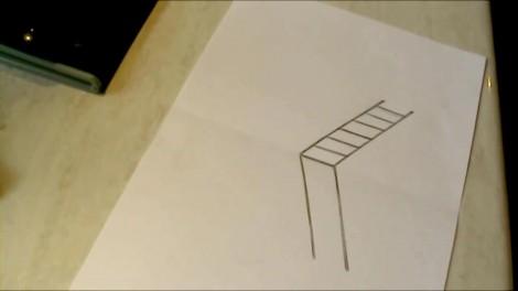 Как нарисовать 3d рисунок на бумаге карандашом 3
