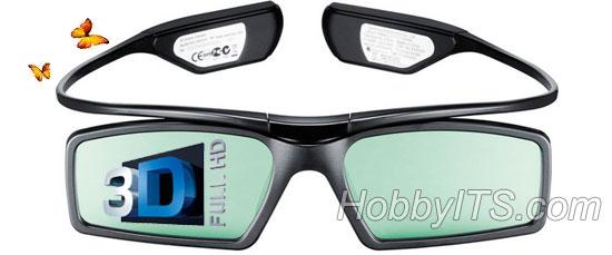 Активные затворные 3D очки