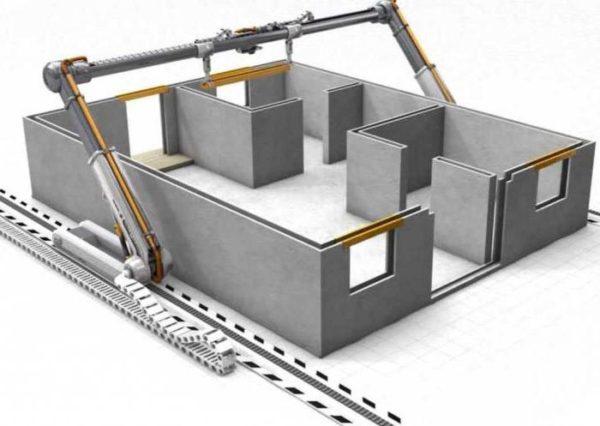 Строительный 3Д-принтер. Новая технология строительства домов