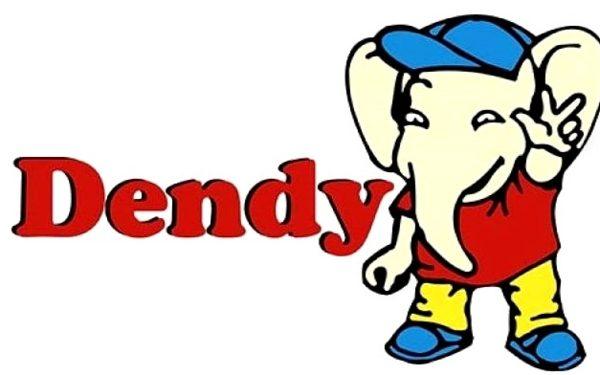 Логотип денди, нарисовал и придумал Иван Максимов(художник-мультипликатор).