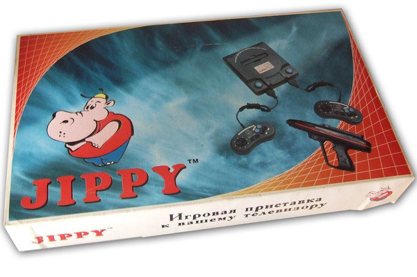 Украинский клон NES - Jippy